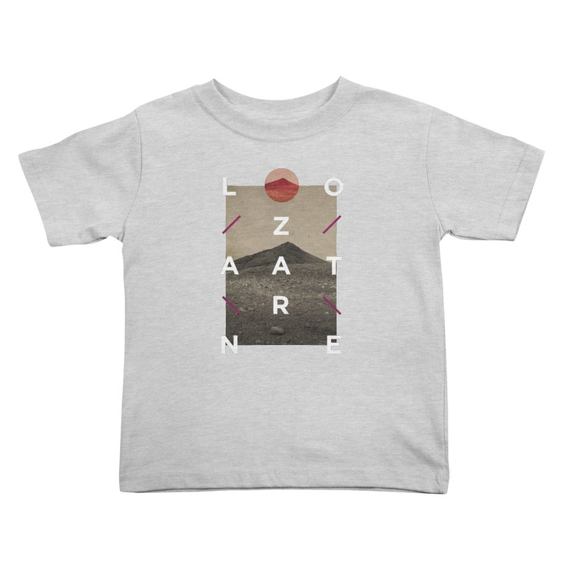 Lanzarote Canarian Island 3 Kids Toddler T-Shirt by virbia's Artist Shop