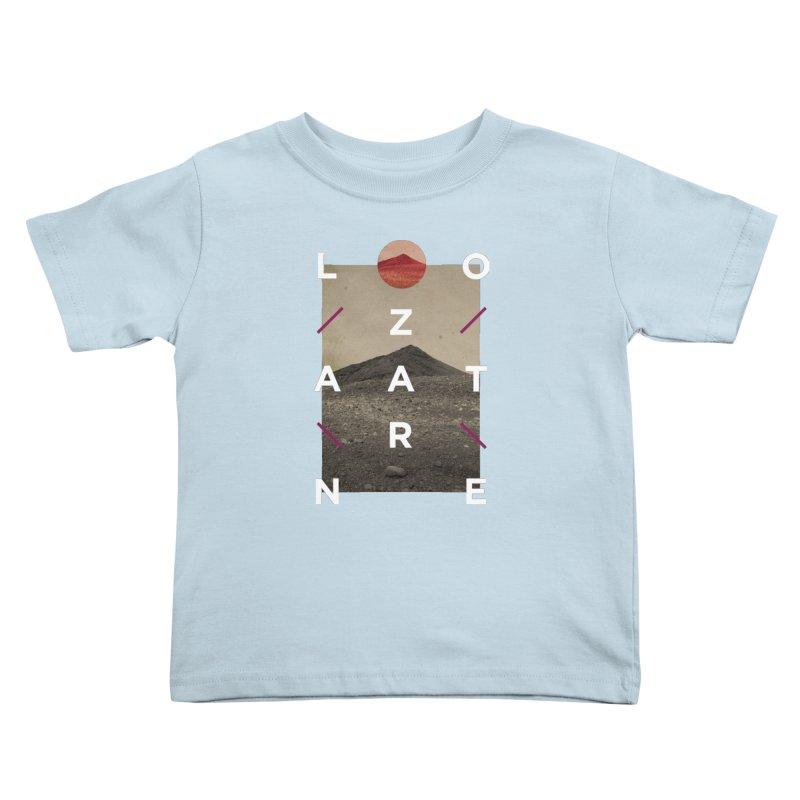 Lanzarote Canarian Island 3 Kids Toddler T-Shirt by virbia's Artist Shop
