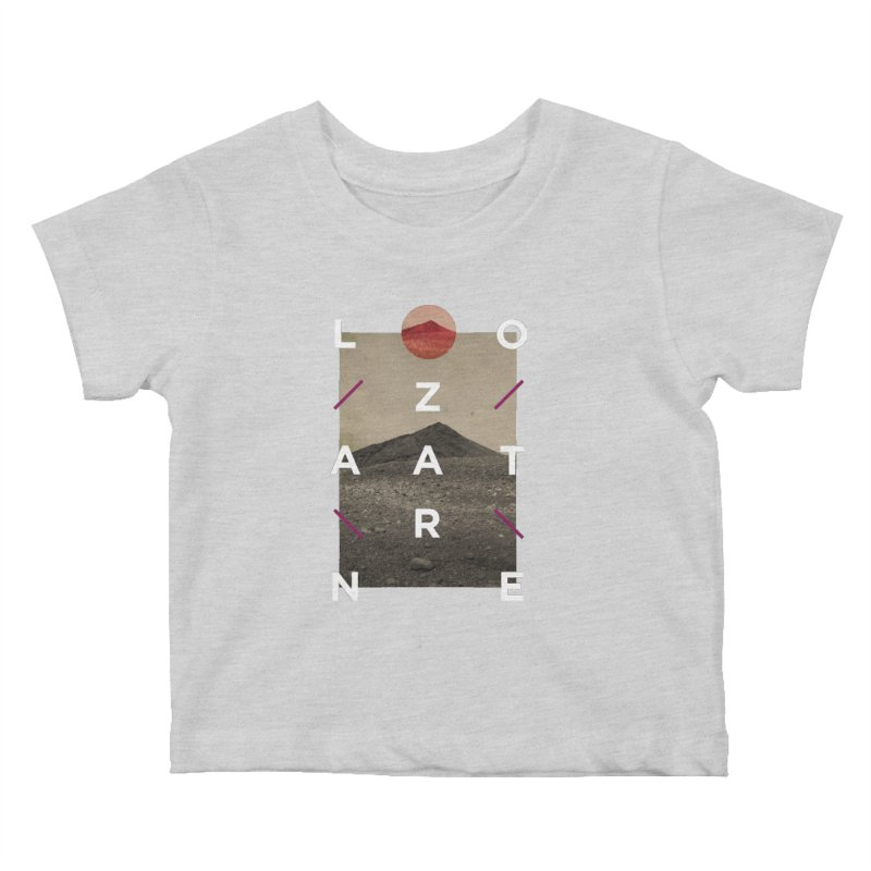 Lanzarote Canarian Island 3 Kids Baby T-Shirt by virbia's Artist Shop