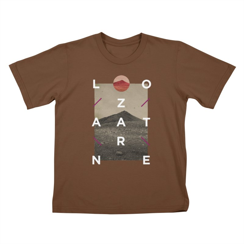Lanzarote Canarian Island 3 Kids T-Shirt by virbia's Artist Shop