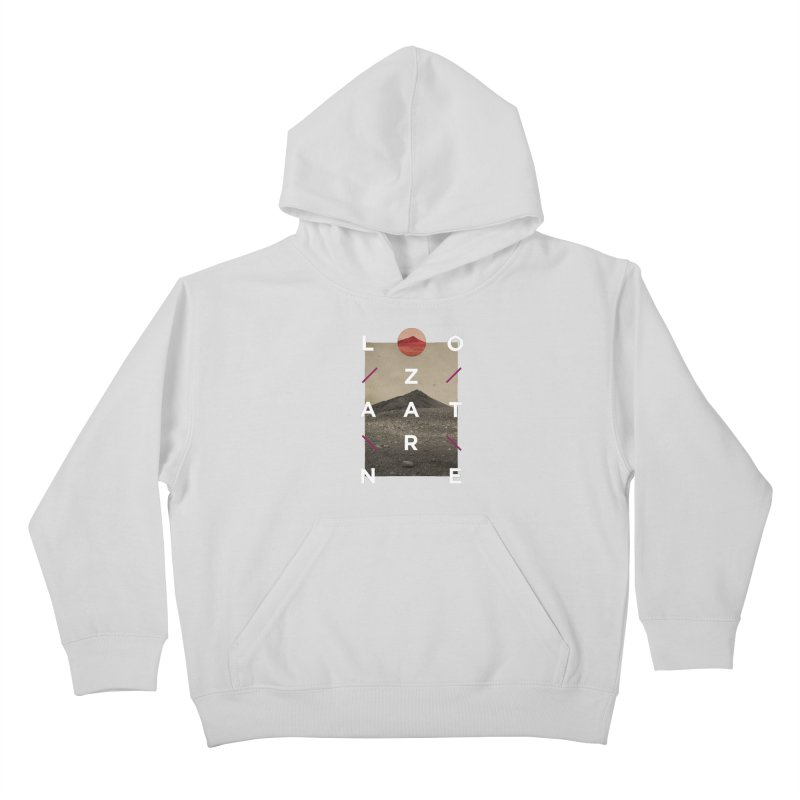 Lanzarote Canarian Island 3 Kids Pullover Hoody by virbia's Artist Shop