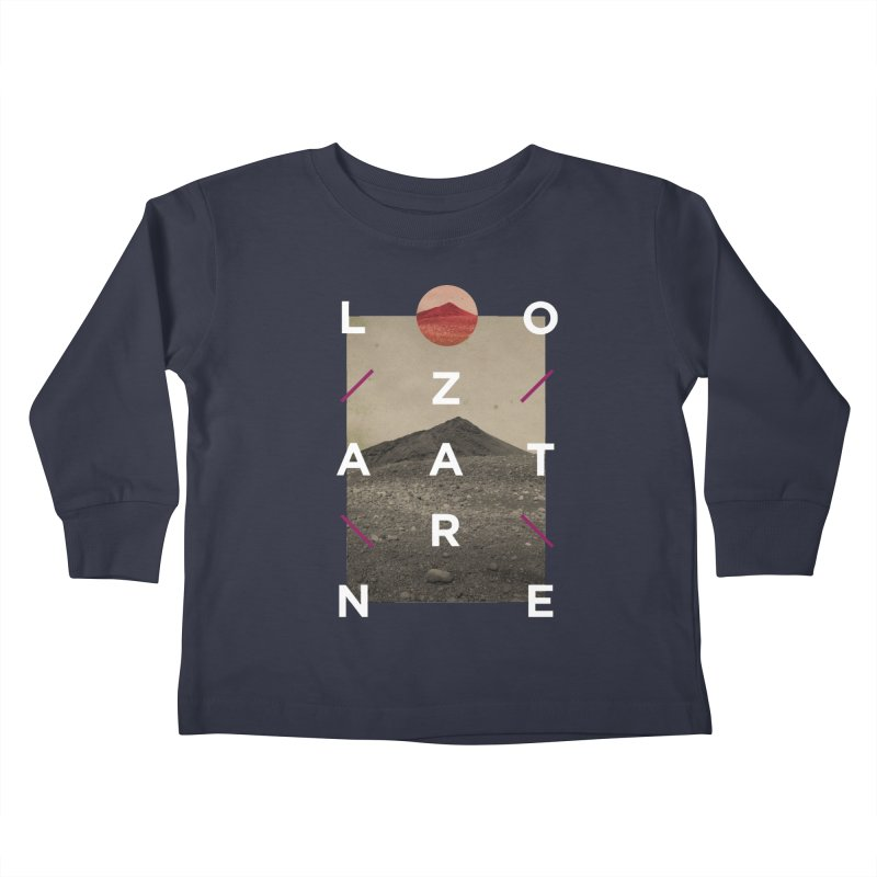 Lanzarote Canarian Island 3 Kids Toddler Longsleeve T-Shirt by virbia's Artist Shop