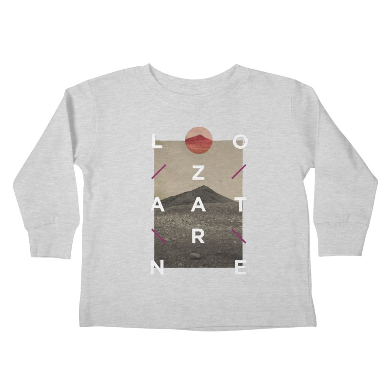Lanzarote Canarian Island 3 Kids Toddler Longsleeve T-Shirt by virbia's Artist Shop
