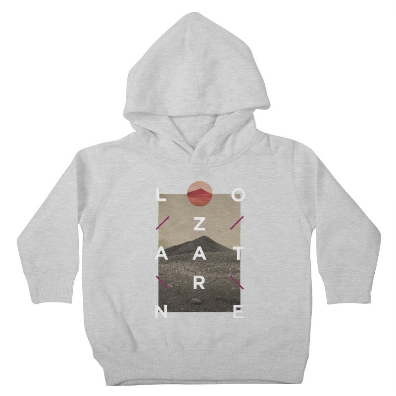 Lanzarote Canarian Island 3 Kids Toddler Pullover Hoody by virbia's Artist Shop