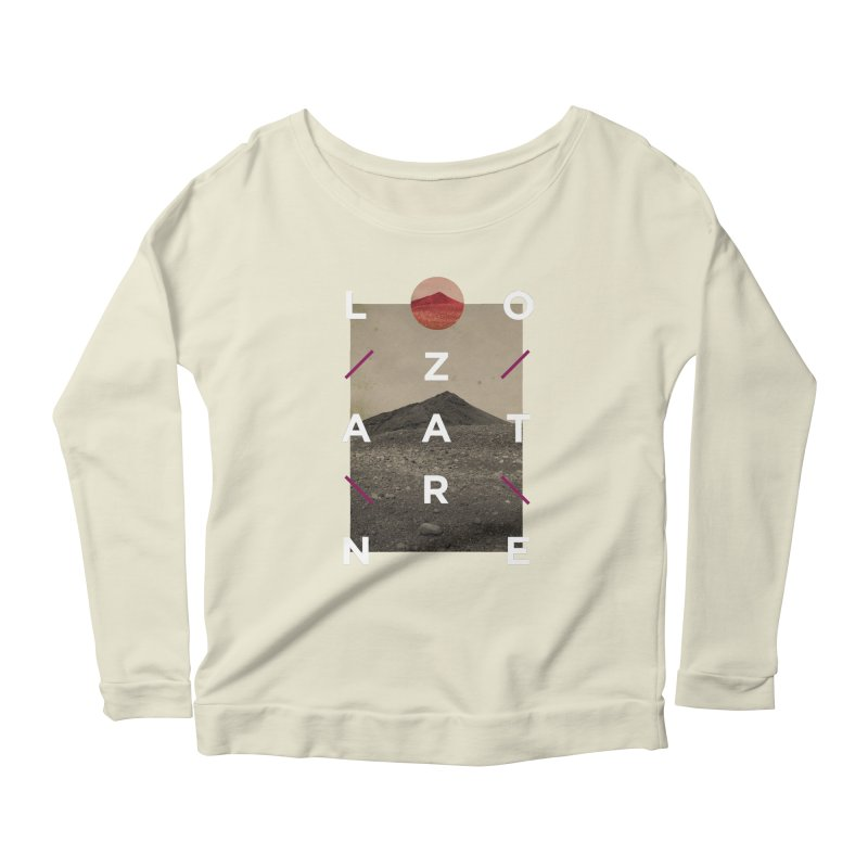 Lanzarote Canarian Island 3 Women's Scoop Neck Longsleeve T-Shirt by virbia's Artist Shop