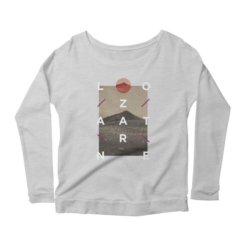 Lanzarote Canarian Island 3 Women's Scoop Neck Longsleeve T-Shirt by virbia's Artist Shop