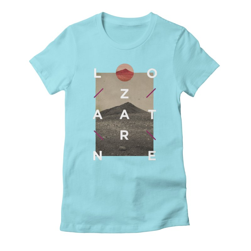Lanzarote Canarian Island 3 Women's Fitted T-Shirt by virbia's Artist Shop