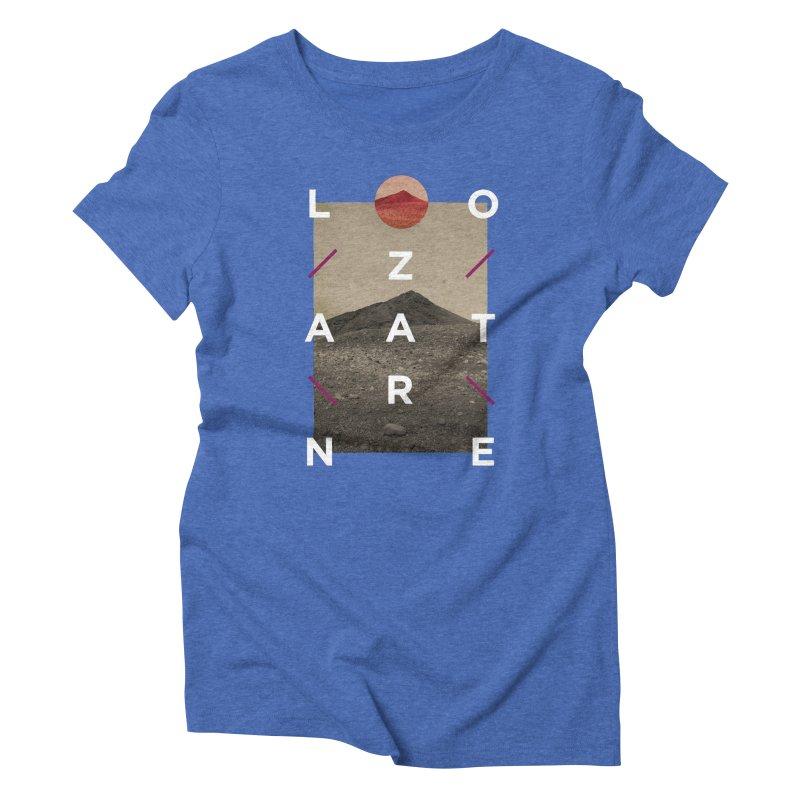 Lanzarote Canarian Island 3 Women's Triblend T-Shirt by virbia's Artist Shop