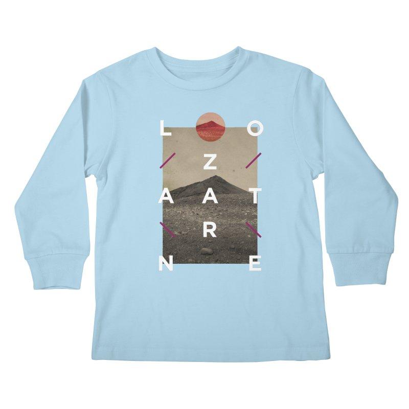 Lanzarote Canarian Island 3 Kids Longsleeve T-Shirt by virbia's Artist Shop
