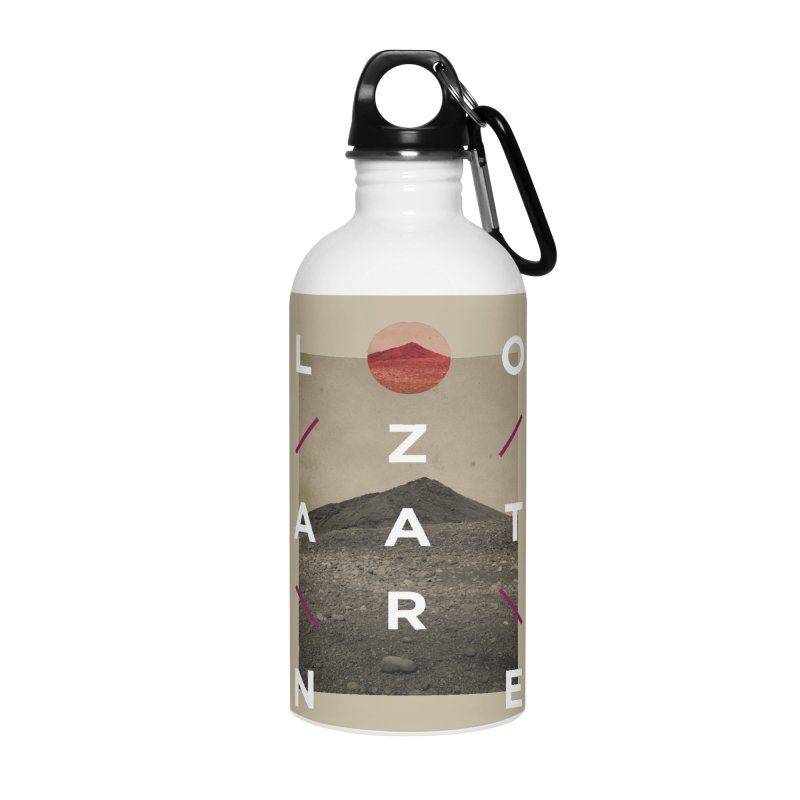 Lanzarote Canarian Island 3 Accessories Water Bottle by virbia's Artist Shop