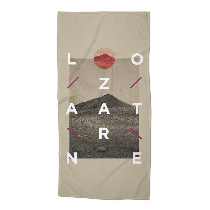 Lanzarote Canarian Island 3 Accessories Beach Towel by virbia's Artist Shop