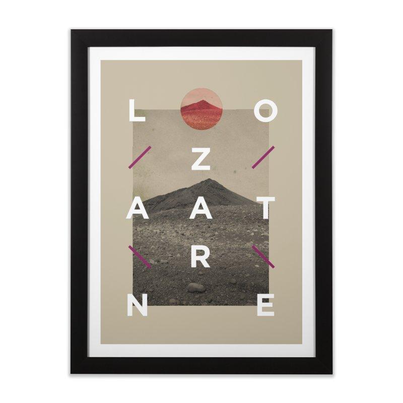 Lanzarote Canarian Island 3 Home Framed Fine Art Print by virbia's Artist Shop