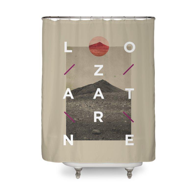 Lanzarote Canarian Island 3 Home Shower Curtain by virbia's Artist Shop
