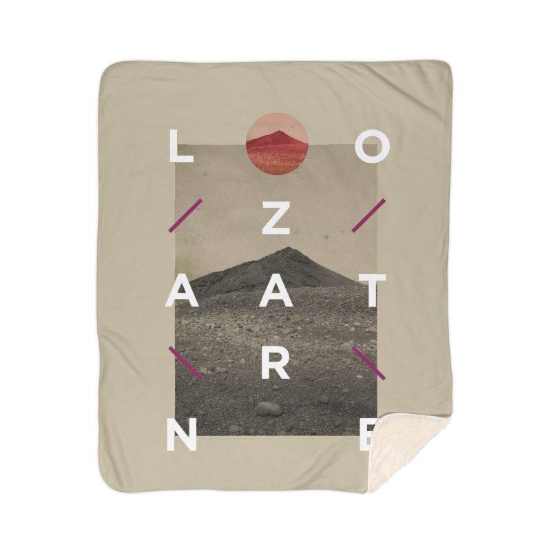 Lanzarote Canarian Island 3 Home Sherpa Blanket Blanket by virbia's Artist Shop
