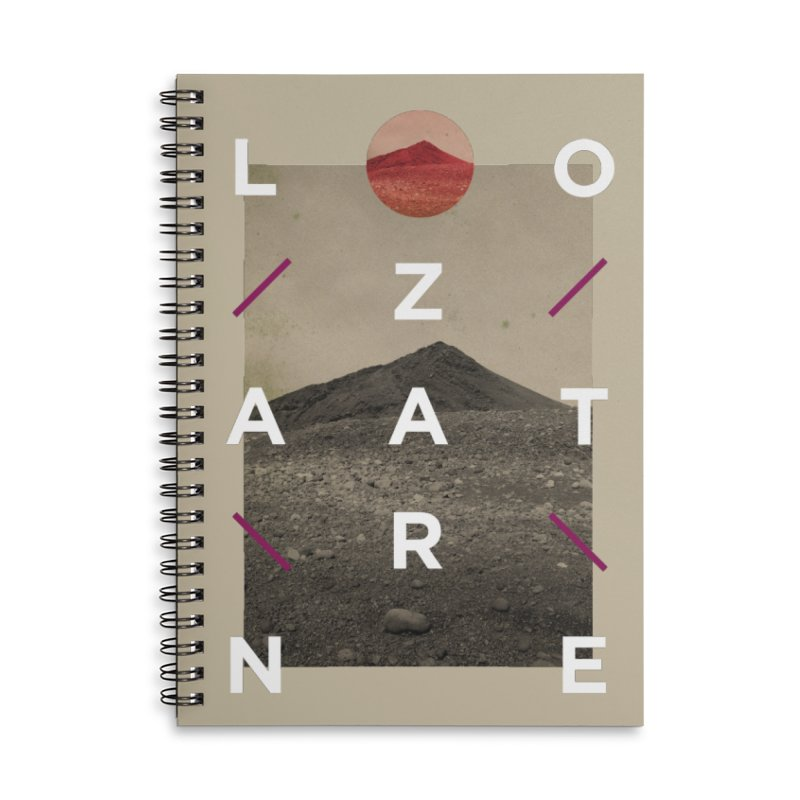 Lanzarote Canarian Island 3 Accessories Lined Spiral Notebook by virbia's Artist Shop