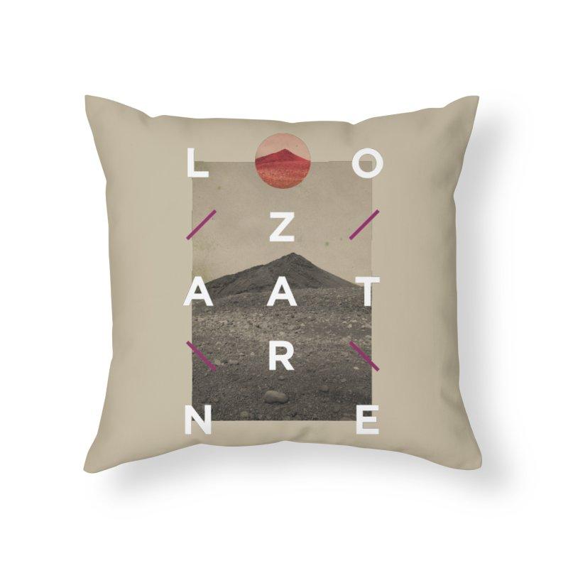 Lanzarote Canarian Island 3 Home Throw Pillow by virbia's Artist Shop