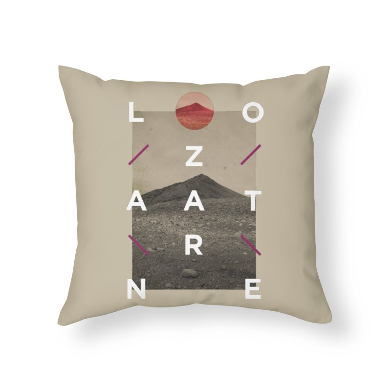 Lanzarote Canarian Island 3 Home Throw Pillow by virbia's Artist Shop