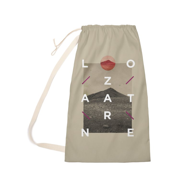 Lanzarote Canarian Island 3 Accessories Laundry Bag Bag by virbia's Artist Shop
