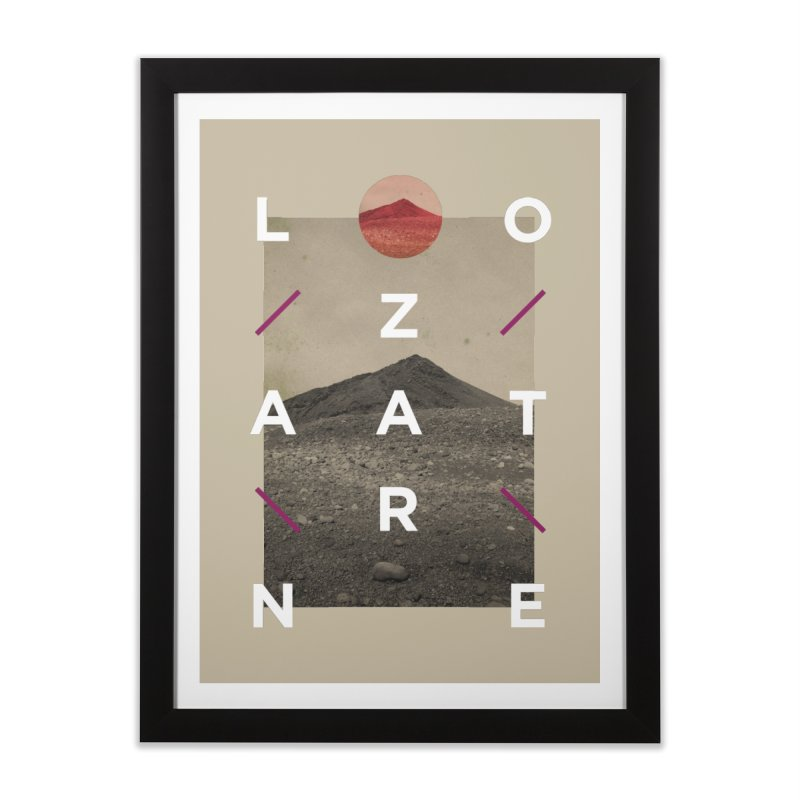 Lanzarote Canarian Island 3 Home Framed Fine Art Print by virbia's Artist Shop