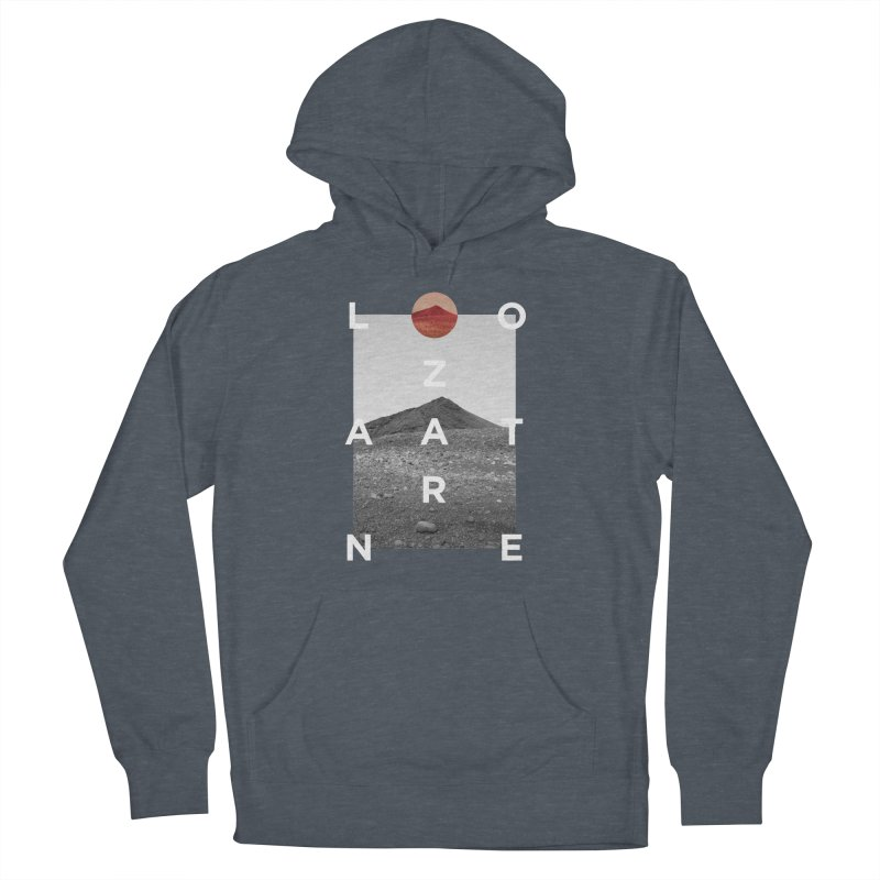 Lanzarote Canarian Island 4 Men's French Terry Pullover Hoody by virbia's Artist Shop