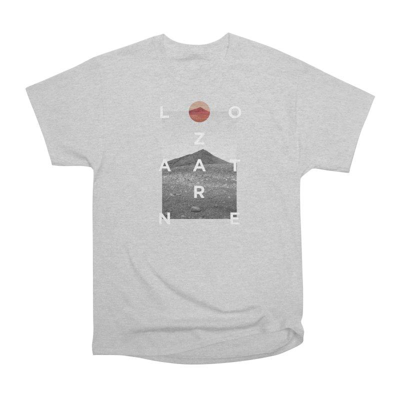 Lanzarote Canarian Island 4 Men's Heavyweight T-Shirt by virbia's Artist Shop