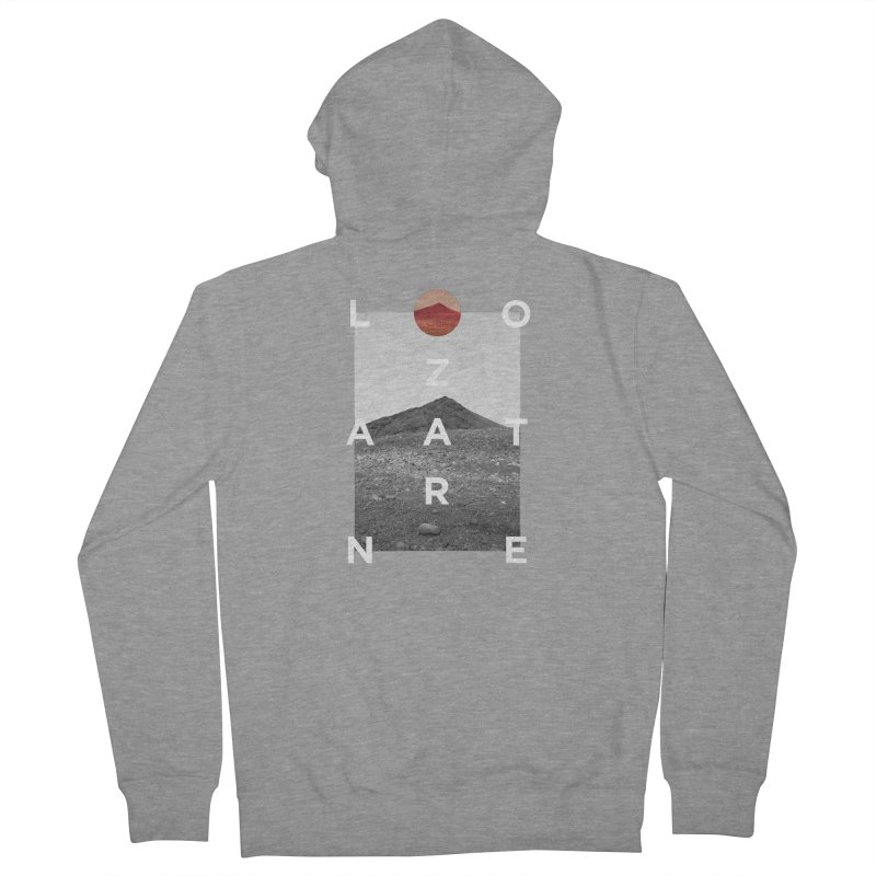 Lanzarote Canarian Island 4 Men's French Terry Zip-Up Hoody by virbia's Artist Shop
