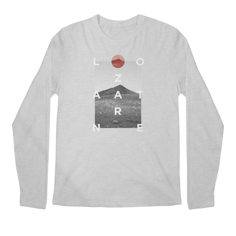 Lanzarote Canarian Island 4 Men's Regular Longsleeve T-Shirt by virbia's Artist Shop