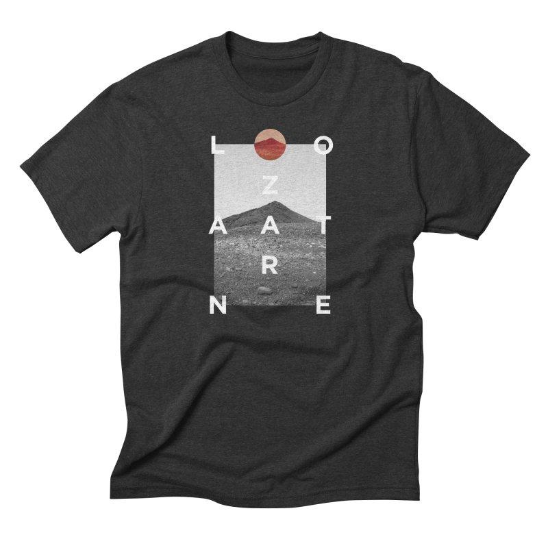 Lanzarote Canarian Island 4 Men's Triblend T-Shirt by virbia's Artist Shop
