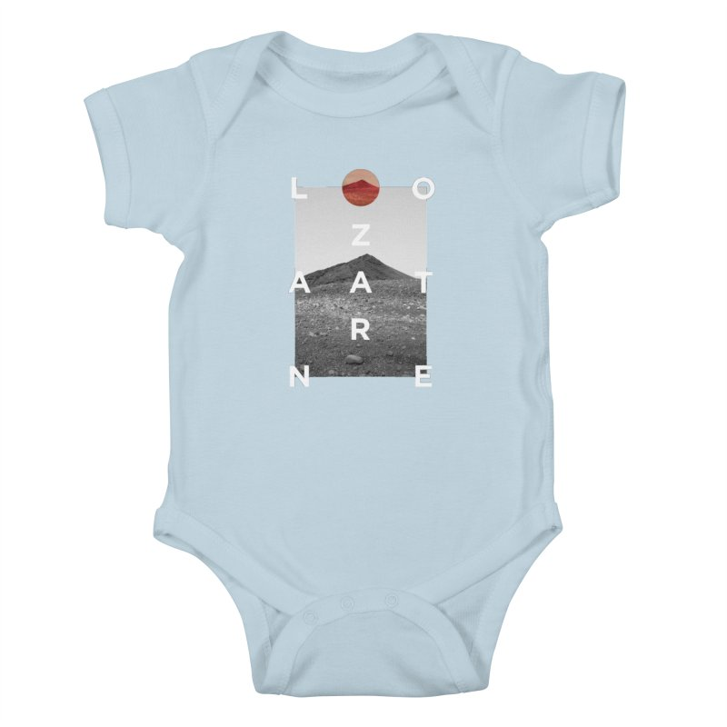 Lanzarote Canarian Island 4 Kids Baby Bodysuit by virbia's Artist Shop