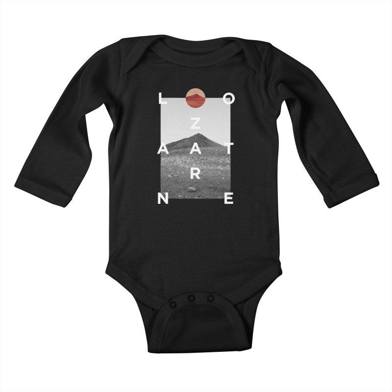 Lanzarote Canarian Island 4 Kids Baby Longsleeve Bodysuit by virbia's Artist Shop