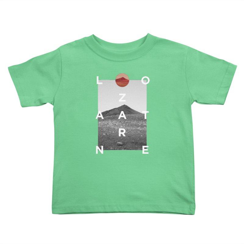 Lanzarote Canarian Island 4 Kids Toddler T-Shirt by virbia's Artist Shop