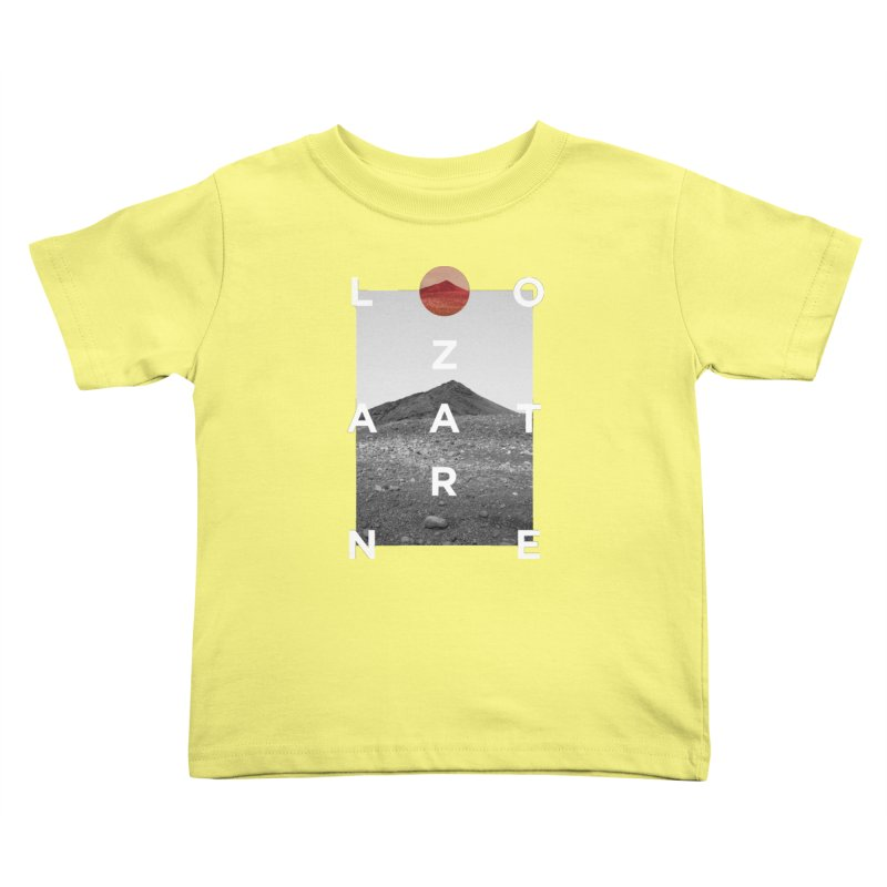 Lanzarote Canarian Island 4 Kids Toddler T-Shirt by virbia's Artist Shop