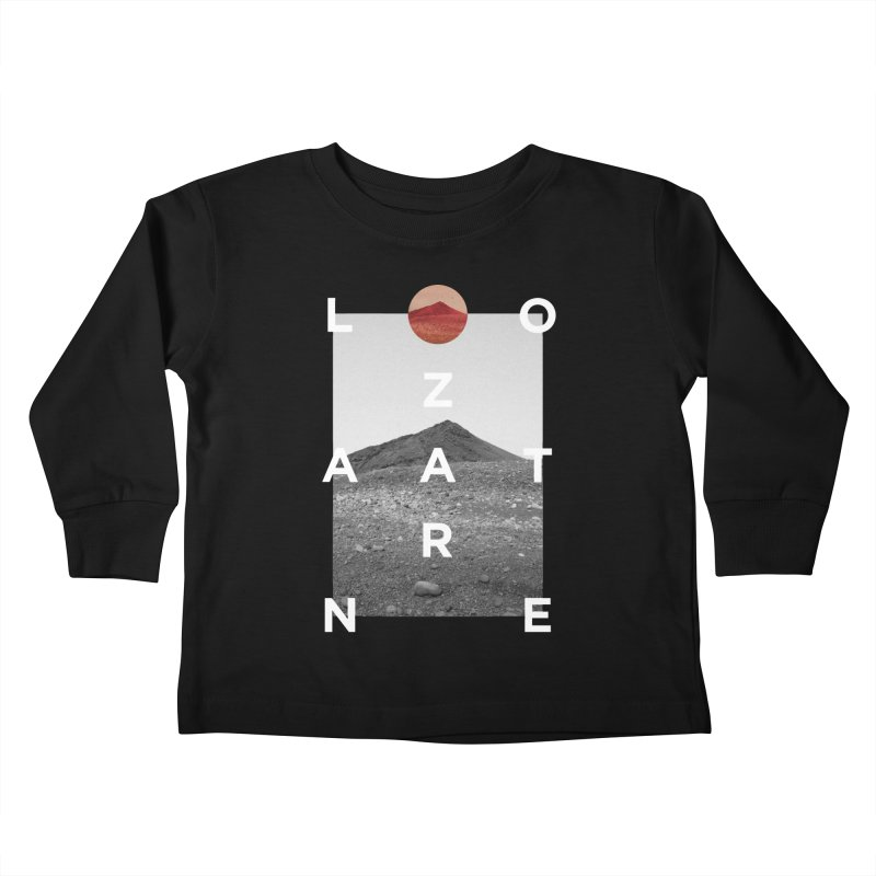 Lanzarote Canarian Island 4 Kids Toddler Longsleeve T-Shirt by virbia's Artist Shop