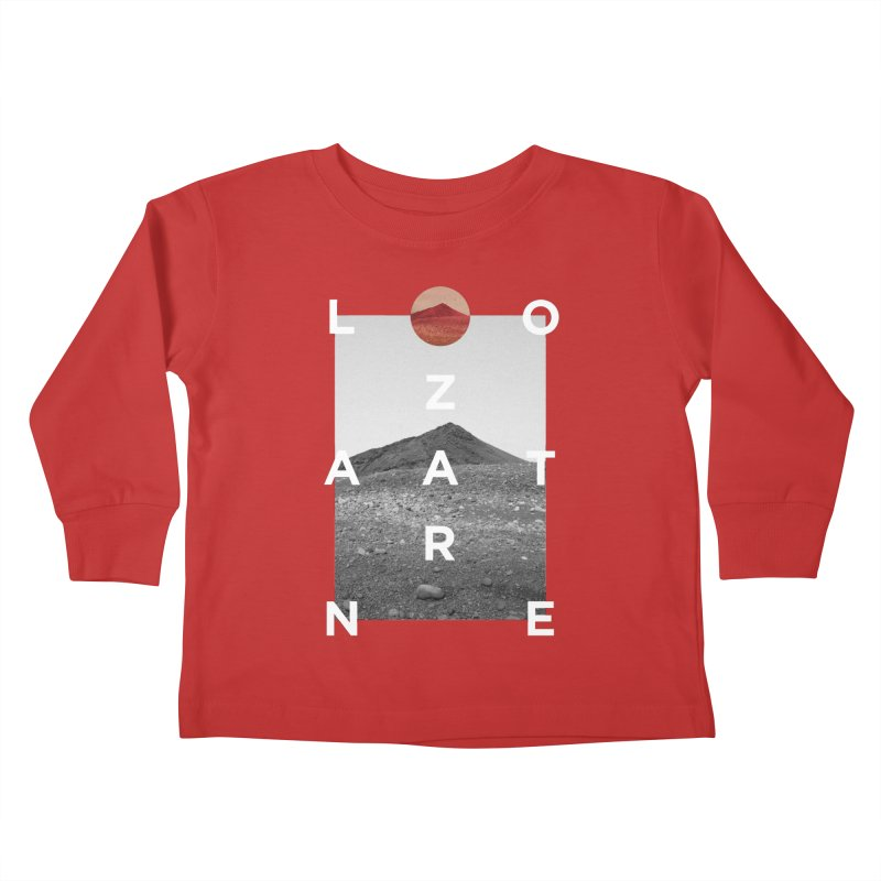 Lanzarote Canarian Island 4 Kids Toddler Longsleeve T-Shirt by virbia's Artist Shop