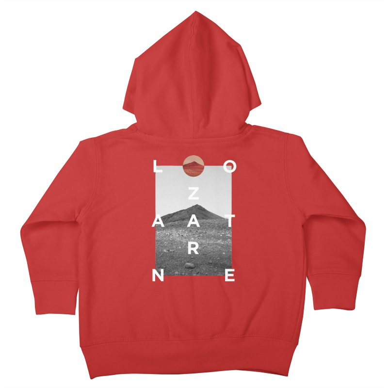 Lanzarote Canarian Island 4 Kids Toddler Zip-Up Hoody by virbia's Artist Shop