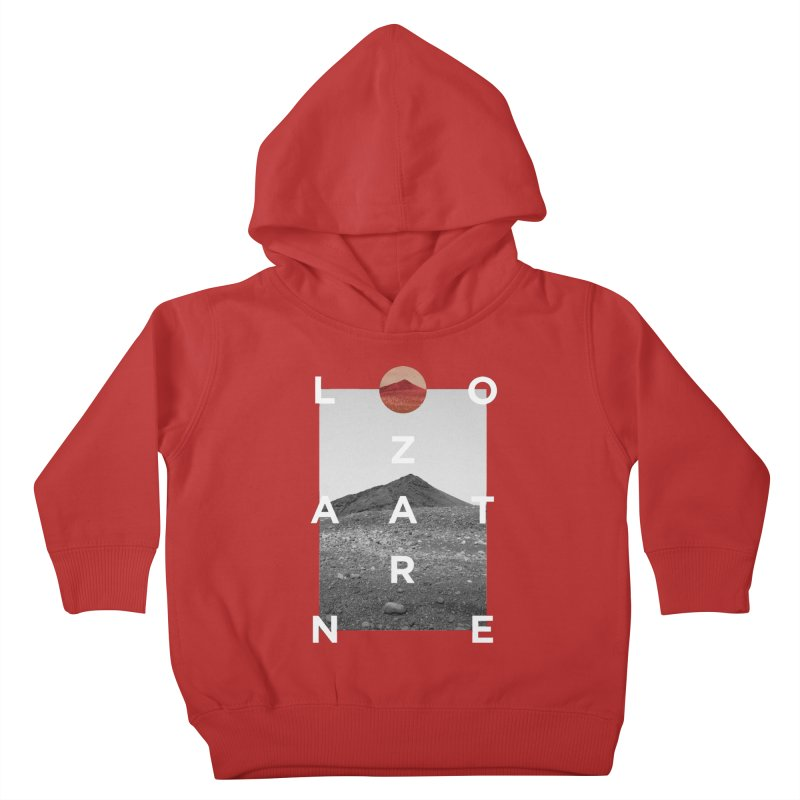 Lanzarote Canarian Island 4 Kids Toddler Pullover Hoody by virbia's Artist Shop