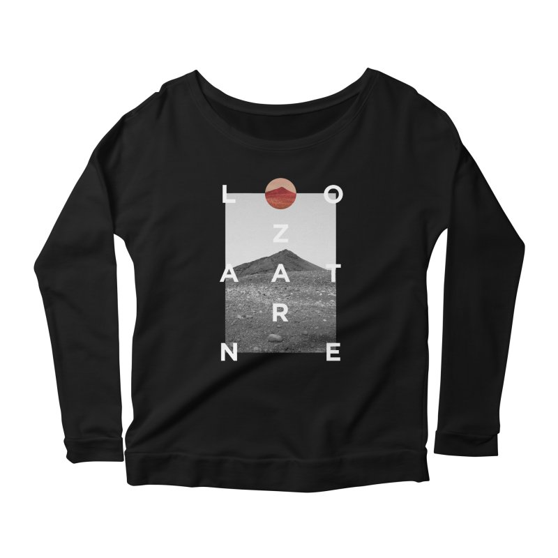 Lanzarote Canarian Island 4 Women's Scoop Neck Longsleeve T-Shirt by virbia's Artist Shop