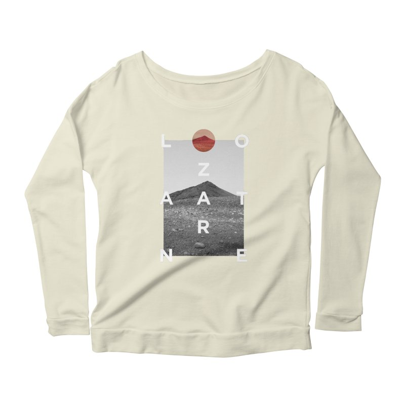 Lanzarote Canarian Island 4 Women's Scoop Neck Longsleeve T-Shirt by virbia's Artist Shop