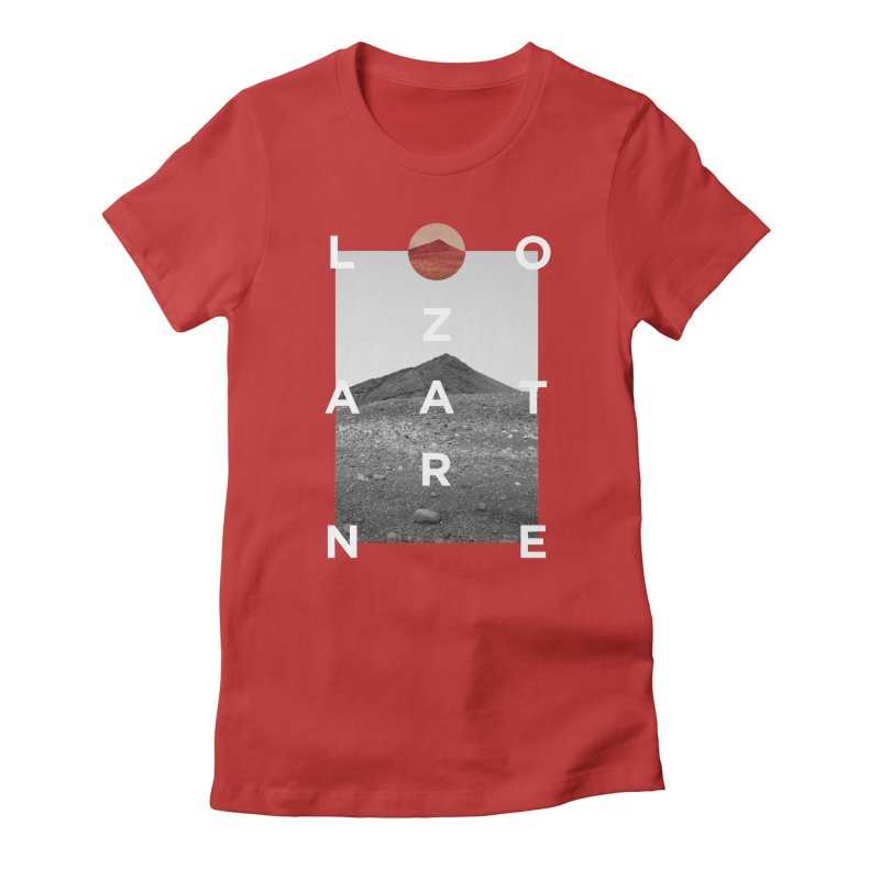 Lanzarote Canarian Island 4 Women's Fitted T-Shirt by virbia's Artist Shop