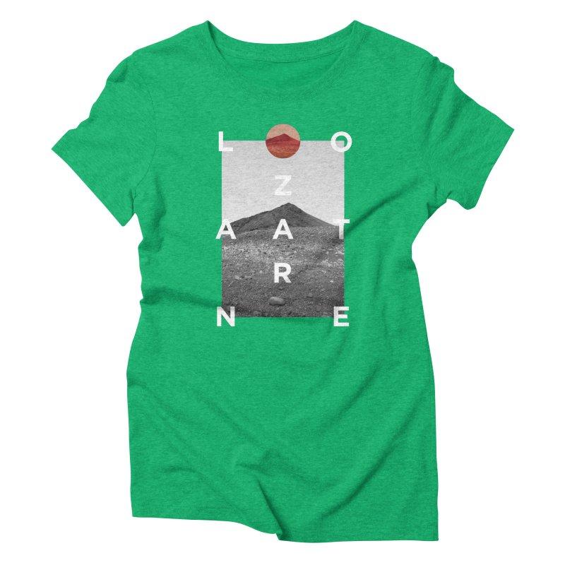 Lanzarote Canarian Island 4 Women's Triblend T-Shirt by virbia's Artist Shop