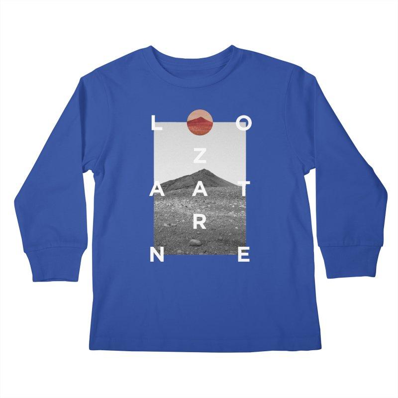 Lanzarote Canarian Island 4 Kids Longsleeve T-Shirt by virbia's Artist Shop