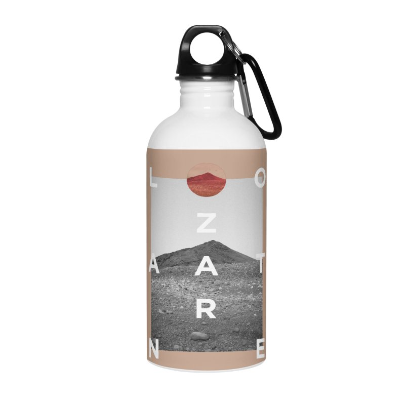 Lanzarote Canarian Island 4 Accessories Water Bottle by virbia's Artist Shop