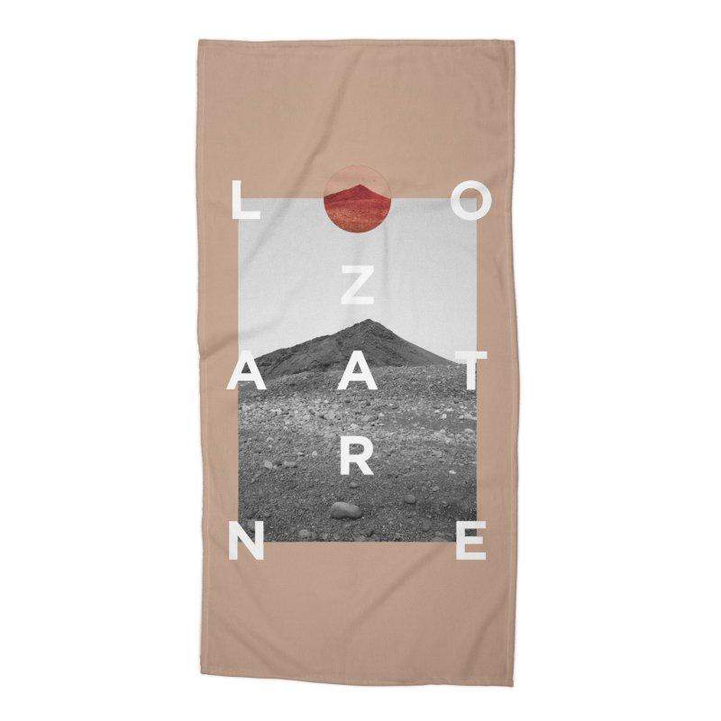 Lanzarote Canarian Island 4 Accessories Beach Towel by virbia's Artist Shop