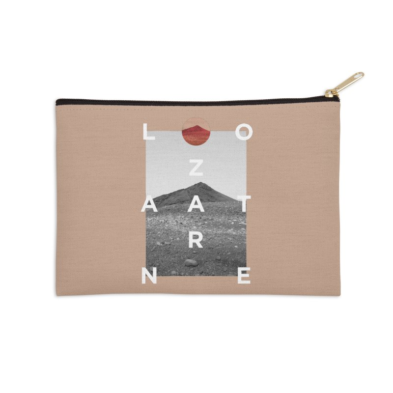 Lanzarote Canarian Island 4 Accessories Zip Pouch by virbia's Artist Shop