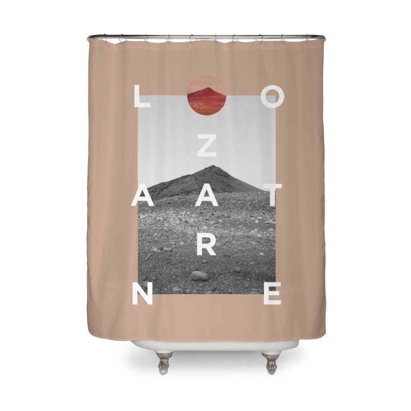 Lanzarote Canarian Island 4 Home Shower Curtain by virbia's Artist Shop