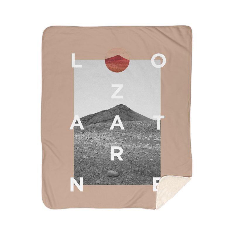 Lanzarote Canarian Island 4 Home Sherpa Blanket Blanket by virbia's Artist Shop