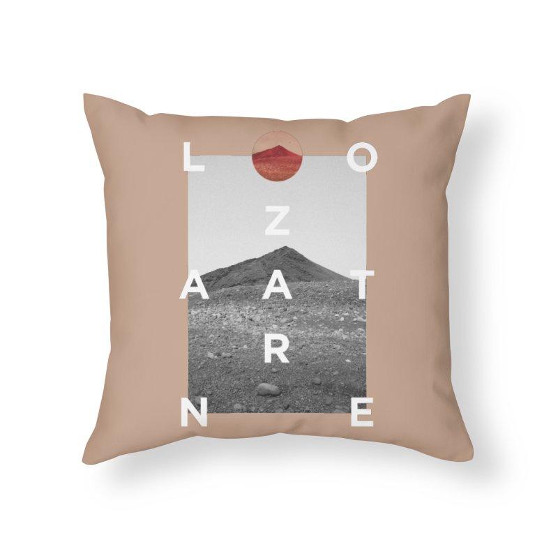 Lanzarote Canarian Island 4 Home Throw Pillow by virbia's Artist Shop