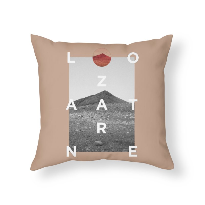 Lanzarote Canarian Island 4 Home Throw Pillow by virbia's Artist Shop