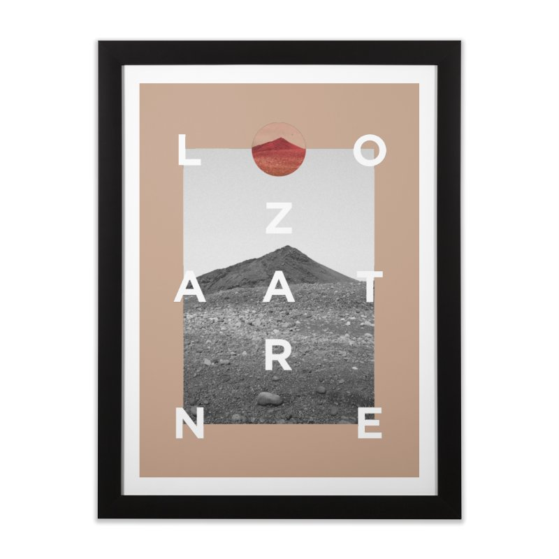 Lanzarote Canarian Island 4 Home Framed Fine Art Print by virbia's Artist Shop