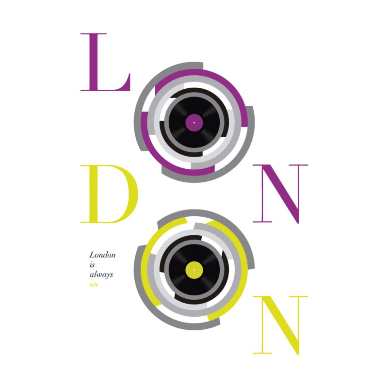 London always on Accessories Mug by virbia's Artist Shop